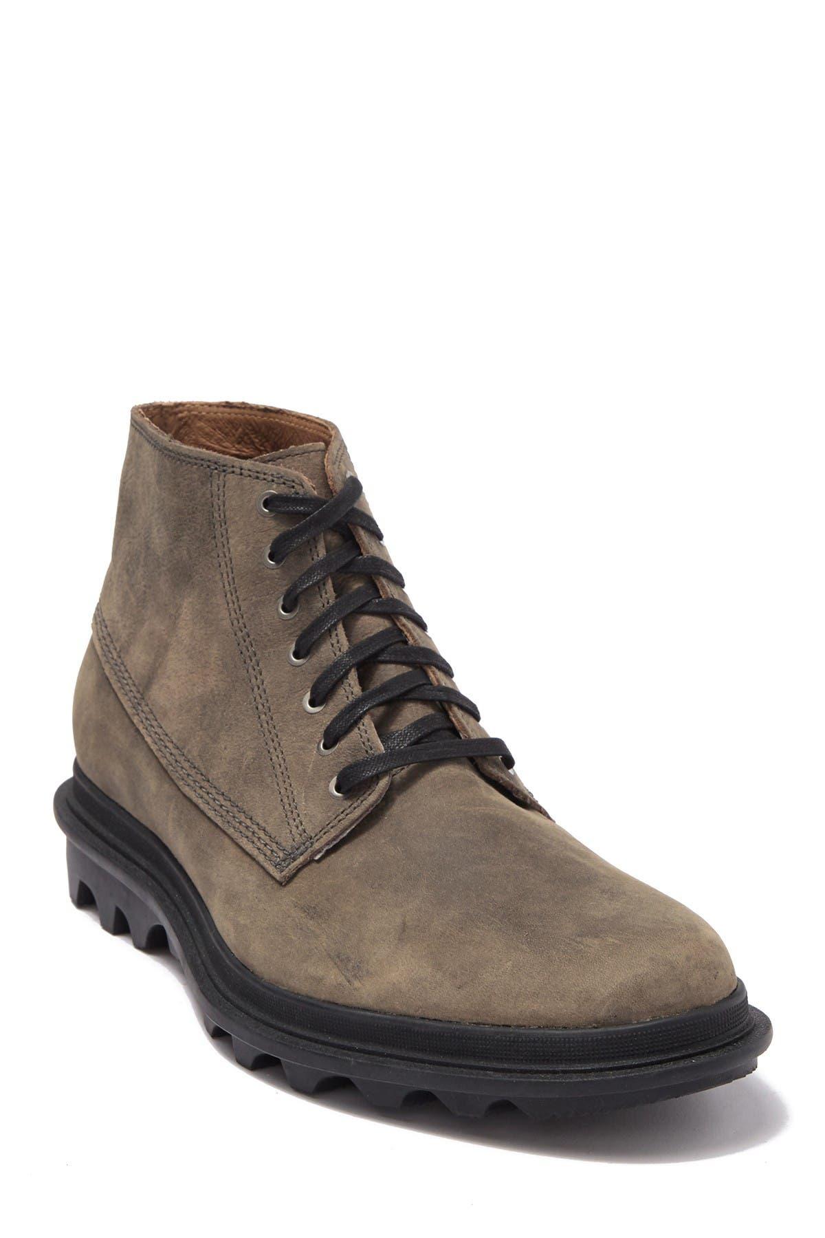 New Men`s Sorel Ace Chukka  Waterproof Full Grain Leather Boot
