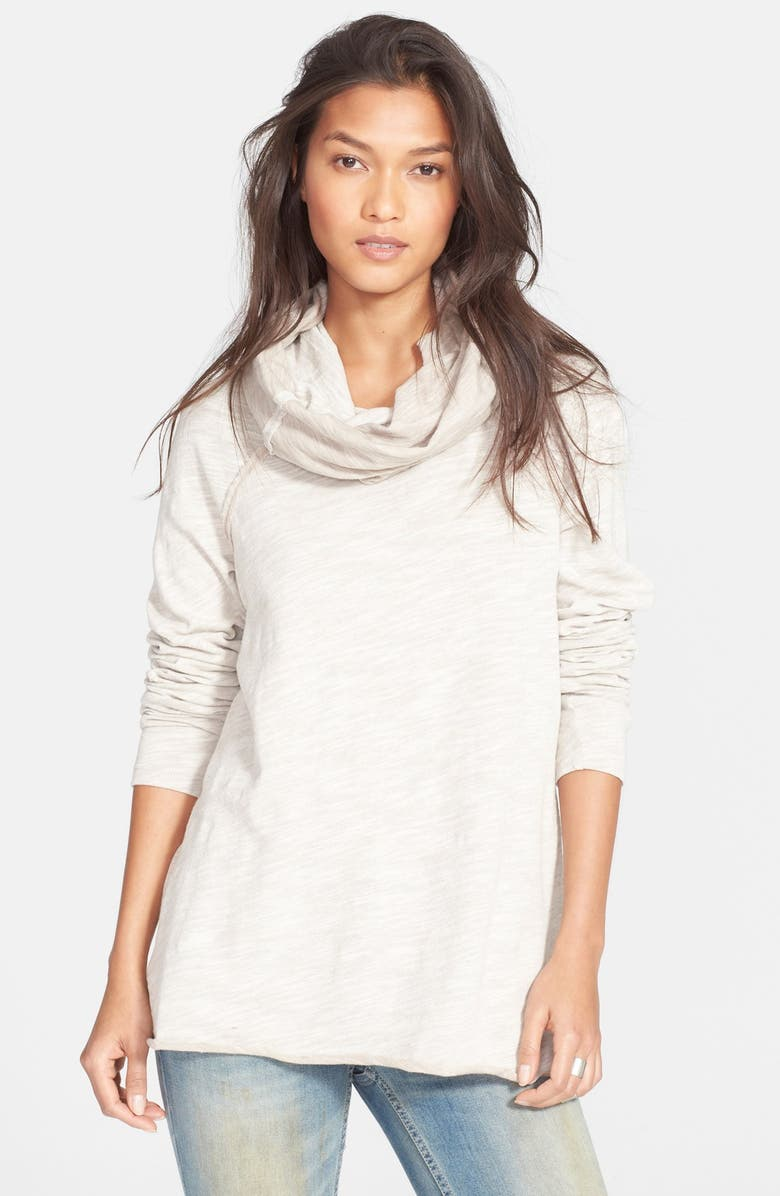 88a509c63b Free People 'Beach Cocoon' Cowl Neck Pullover | Nordstrom
