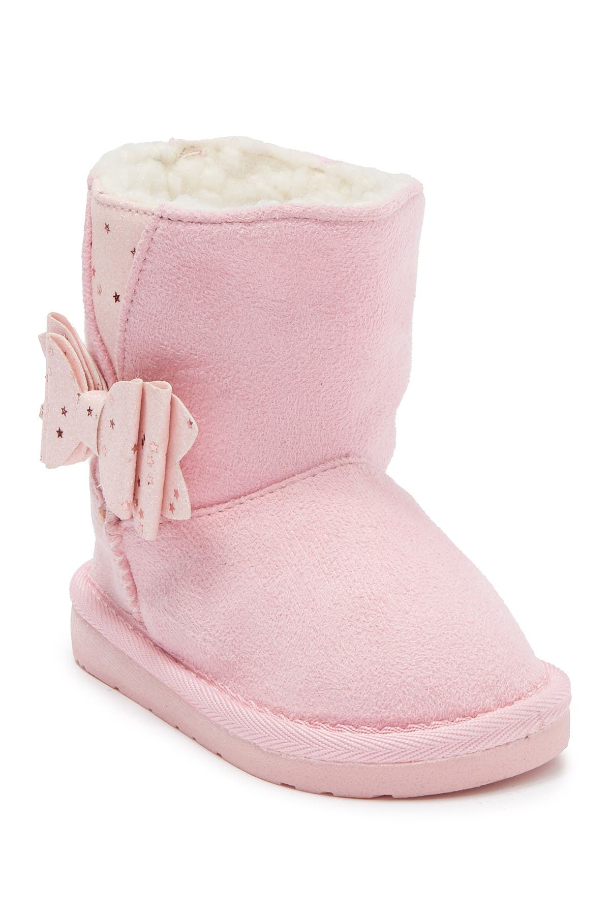 Image of bebe Faux Fur Lined Winter Boot