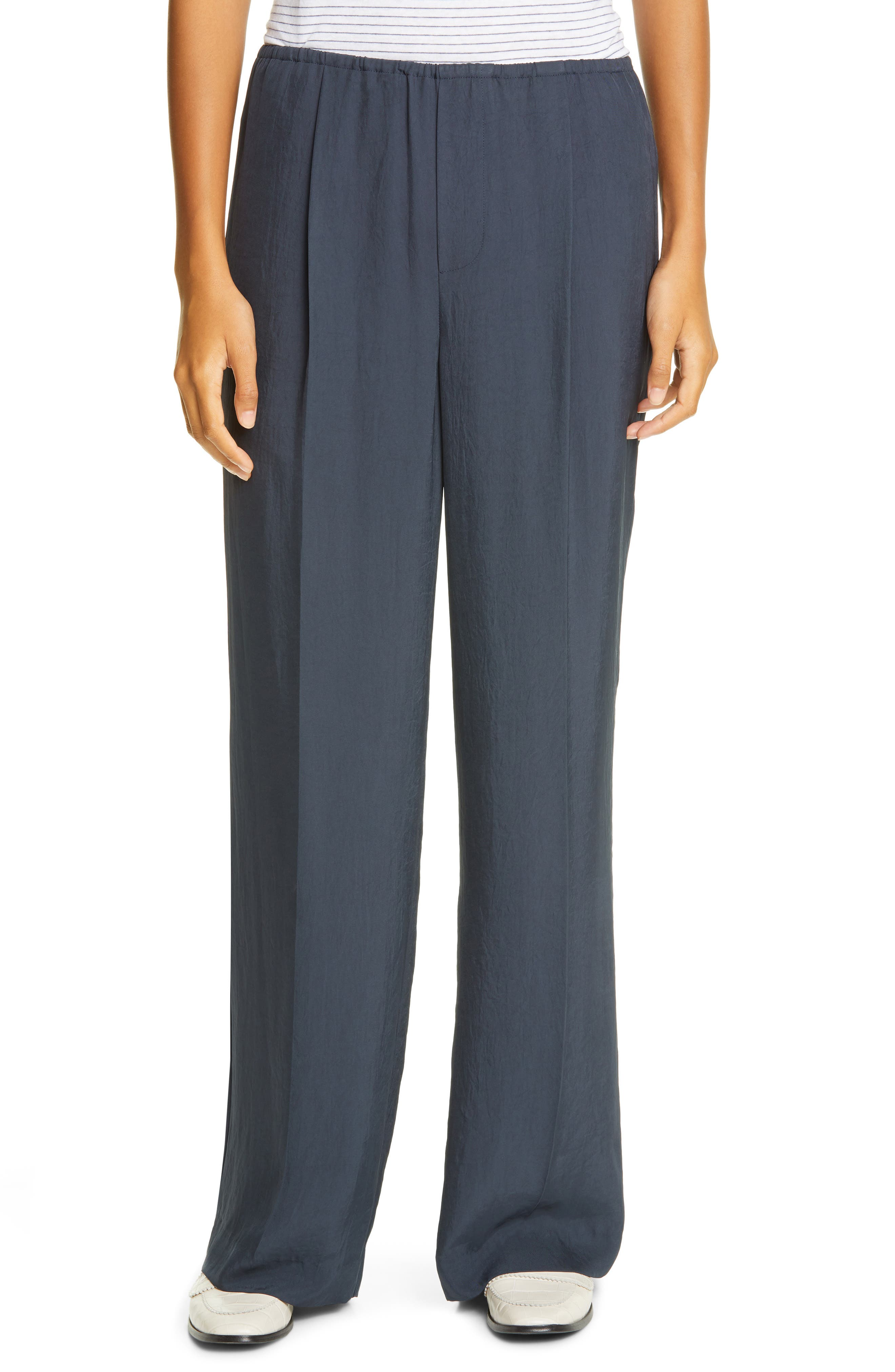 Vince Wide Leg Trousers   Nordstrom