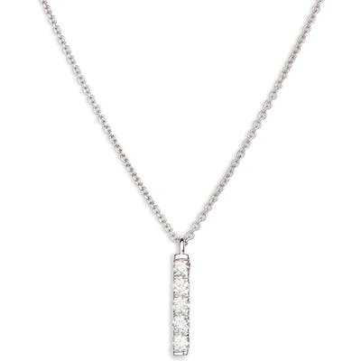 Bony Levy Diamond Bar Pendant Necklace