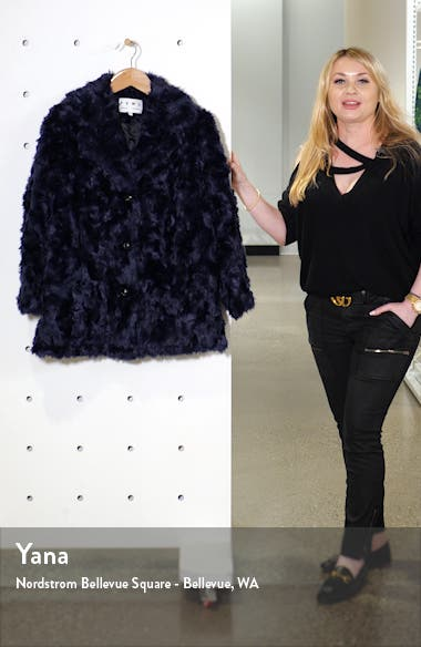 Proenza Schouler PSWL Faux Fur Coat, sales video thumbnail