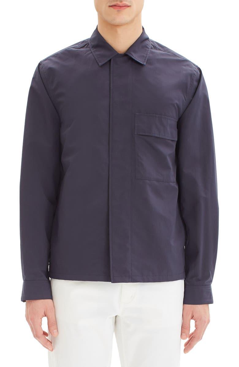 THEORY Trevor Shirt Jacket, Main, color, ECLIPSE