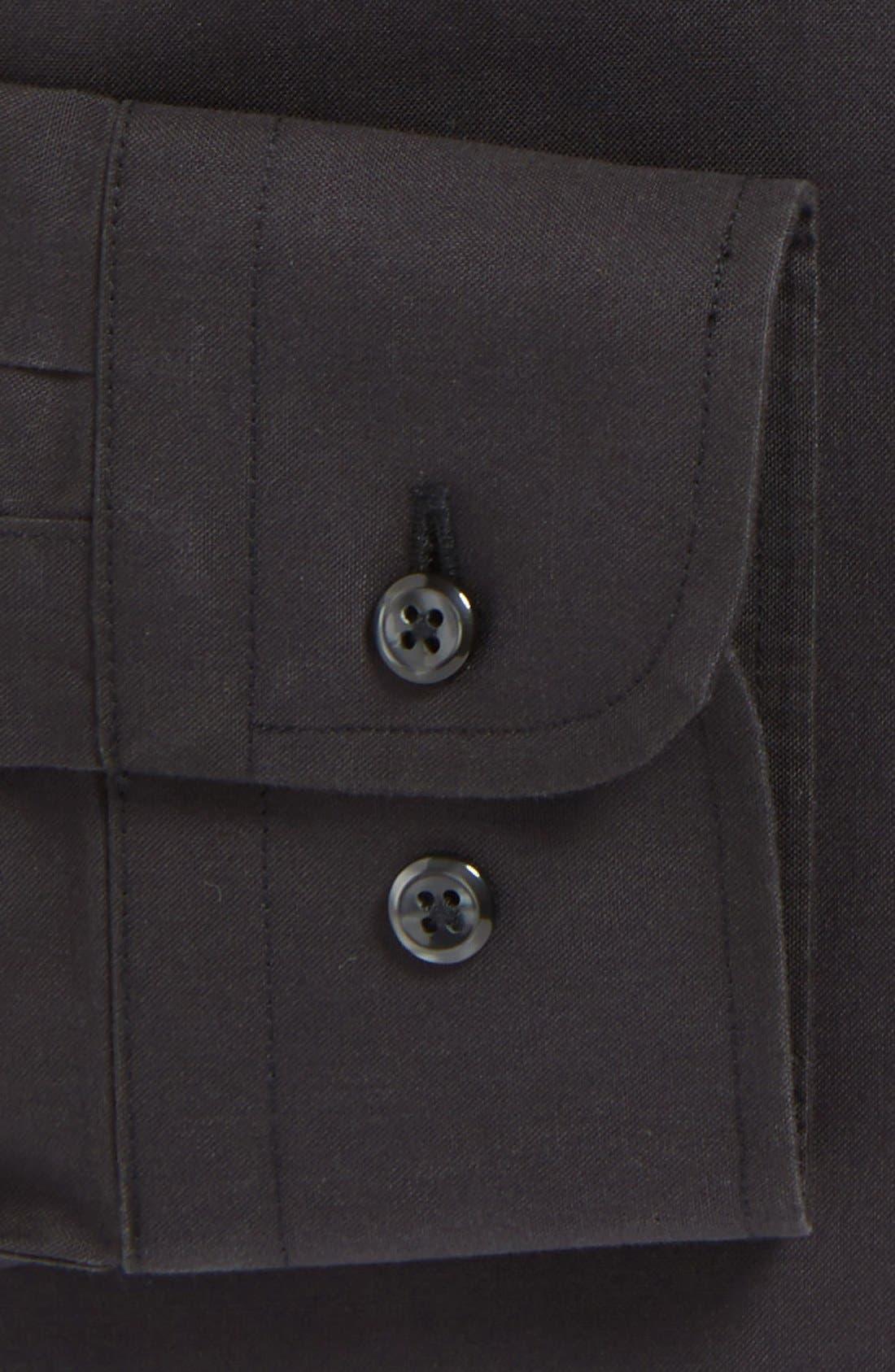 ,                             Smartcare<sup>™</sup> Trim Fit Solid Dress Shirt,                             Alternate thumbnail 7, color,                             002