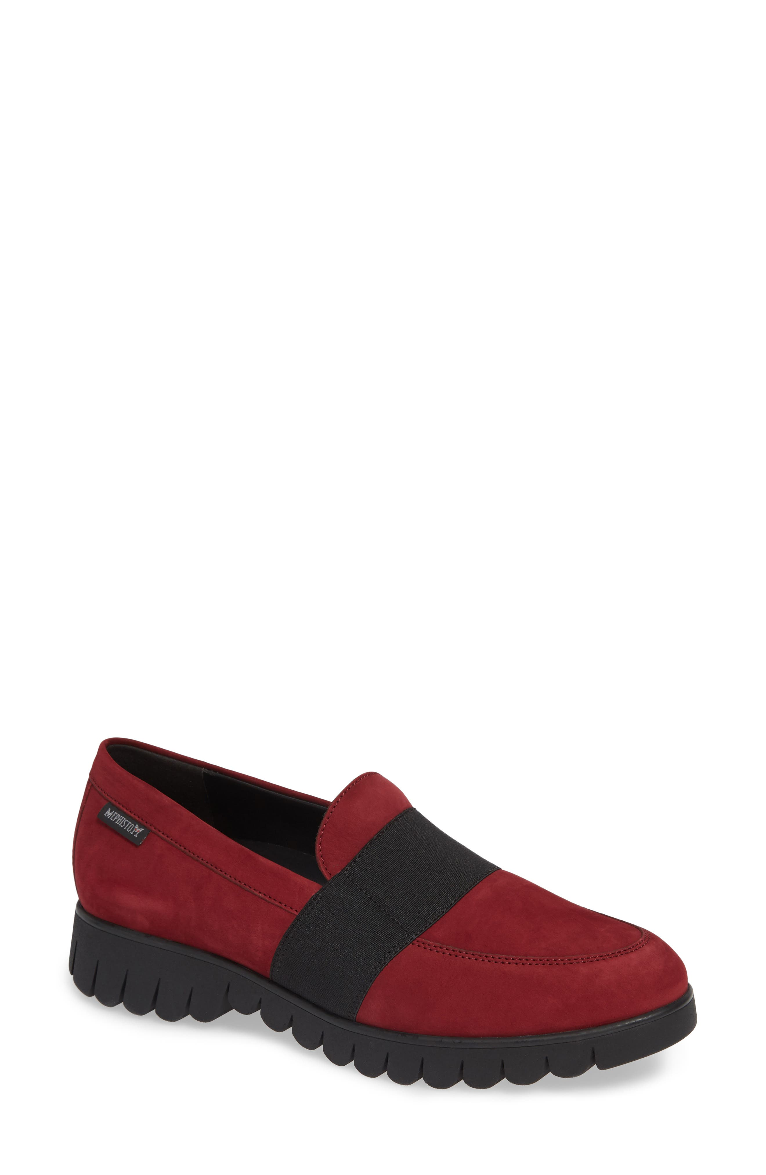 Mephisto Loriane Loafer, Red