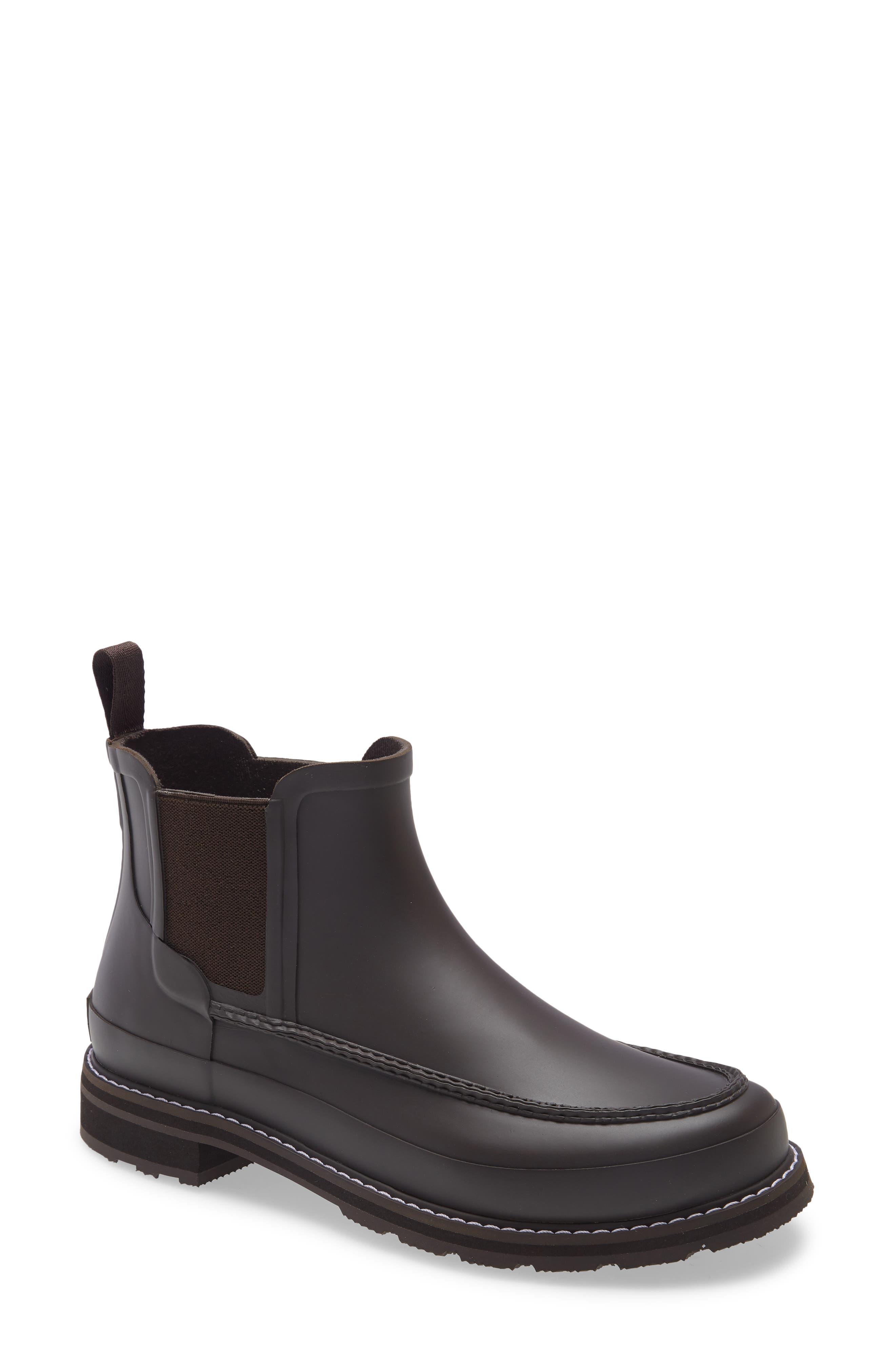 Moc Toe Waterproof Chelsea Rain Boot