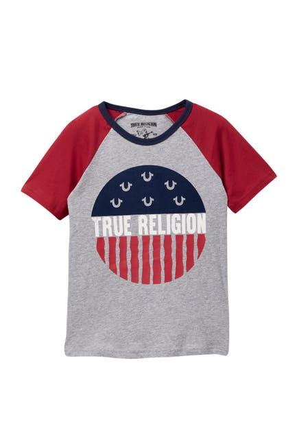 Image of True Religion Raglan T-Shirt