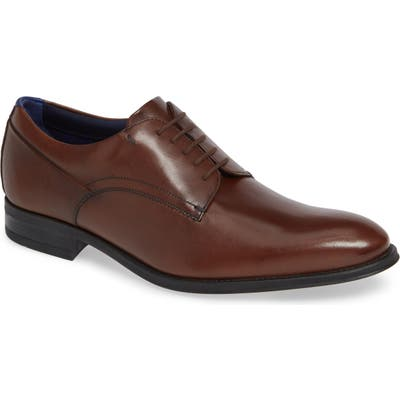 Ted Baker London Jusdim Plain Toe Derby, Brown