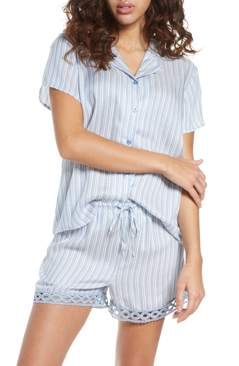 NORDSTROM Trend Short Pajamas, Main, color, 401