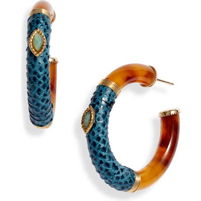 Gas Bijoux Comporta Cabo Hoop Earrings