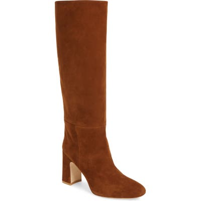 Stuart Weitzman Talina Knee High Boot- Brown