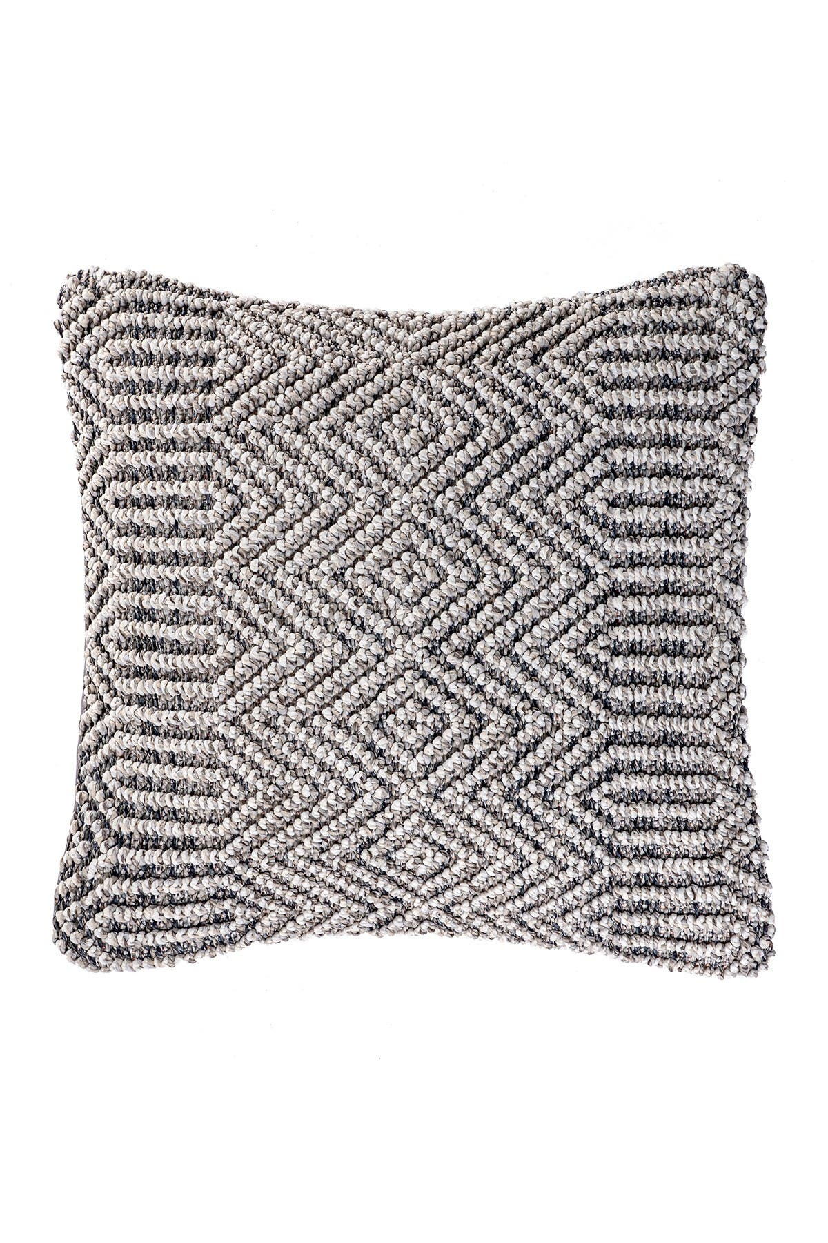 Image of nuLOOM Rigel Textured Abstract Throw Pillow Cover