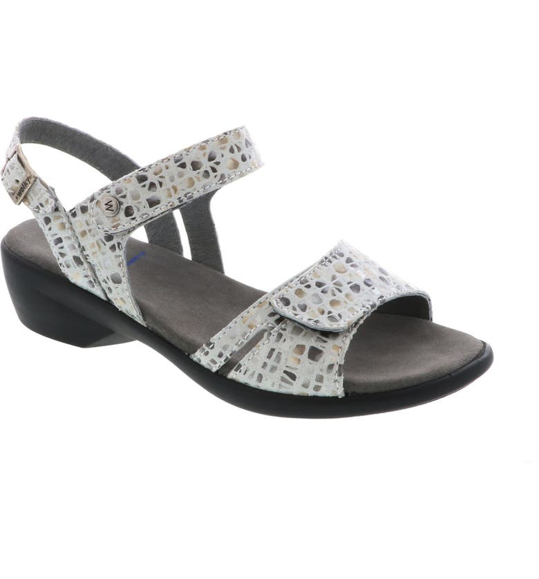 WOLKY Agua Sandal, Main, color, OFF WHITE/ GREY