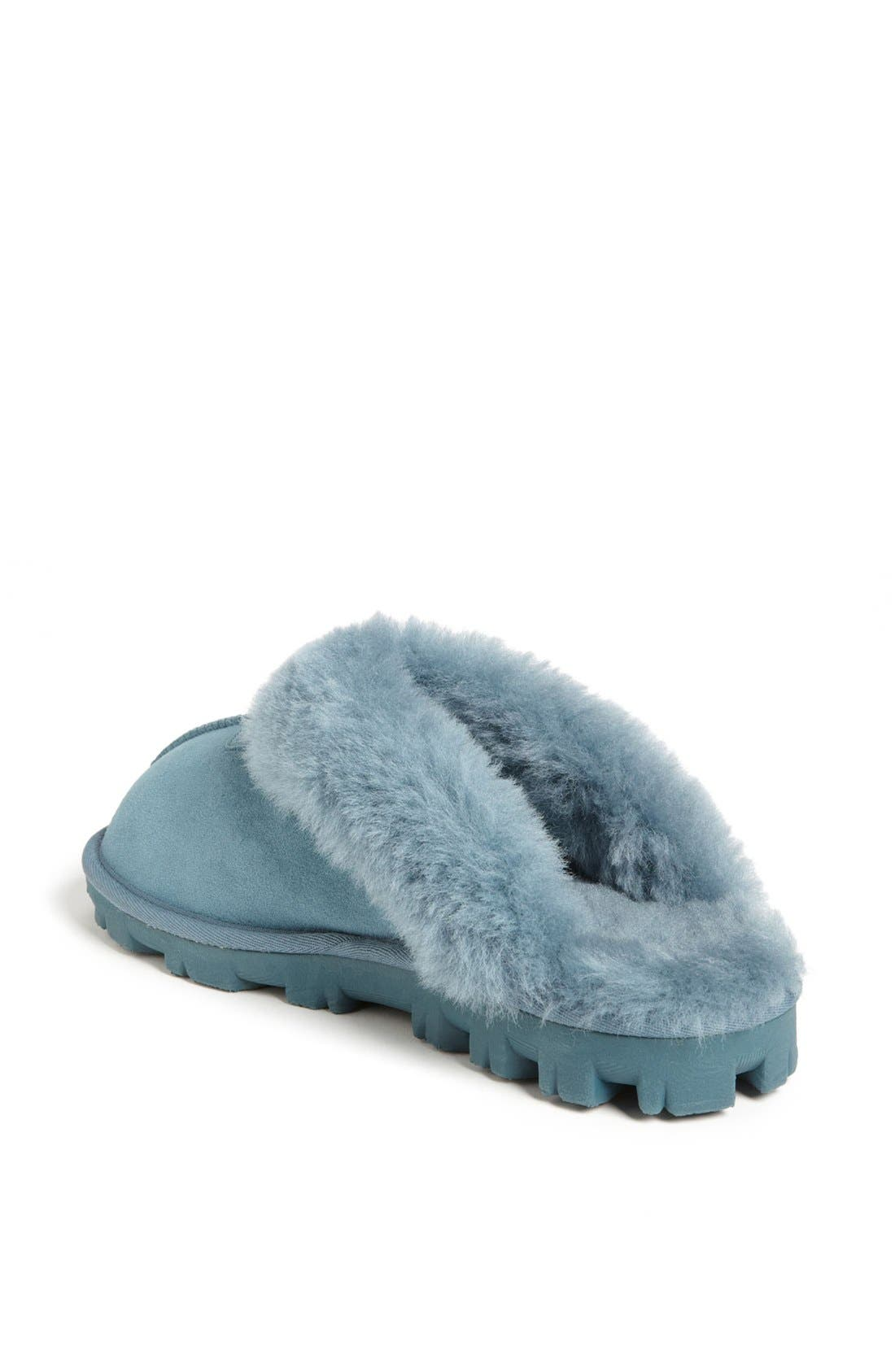 ,                             Genuine Shearling Slipper,                             Alternate thumbnail 127, color,                             473