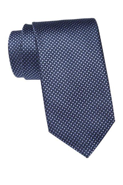 Image of BOSS Burgundy Silk Tie