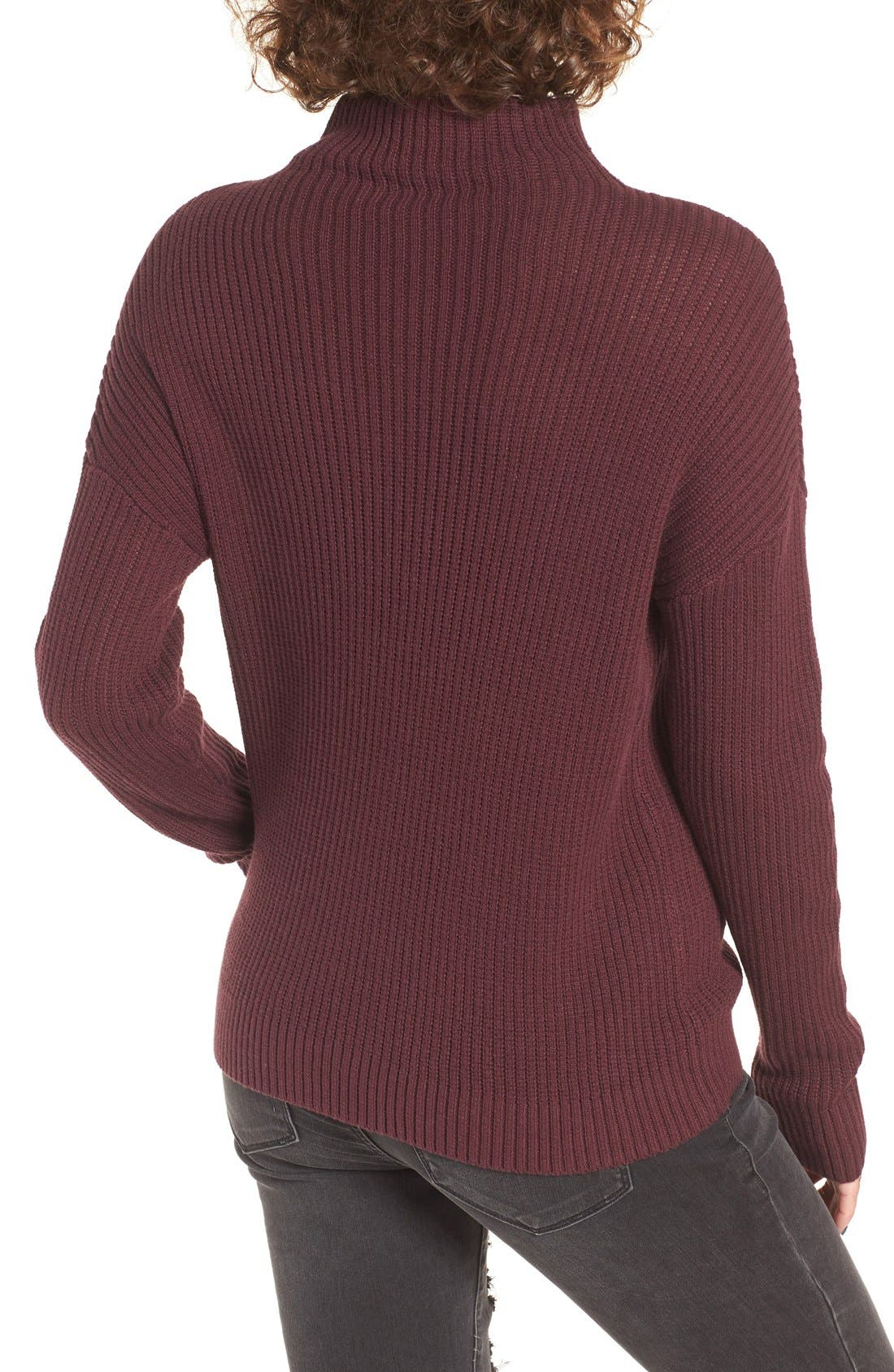 ,                             Mock Neck Sweater,                             Alternate thumbnail 37, color,                             930