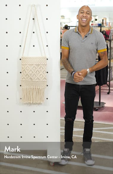 Macramé Crossbody Bag, sales video thumbnail