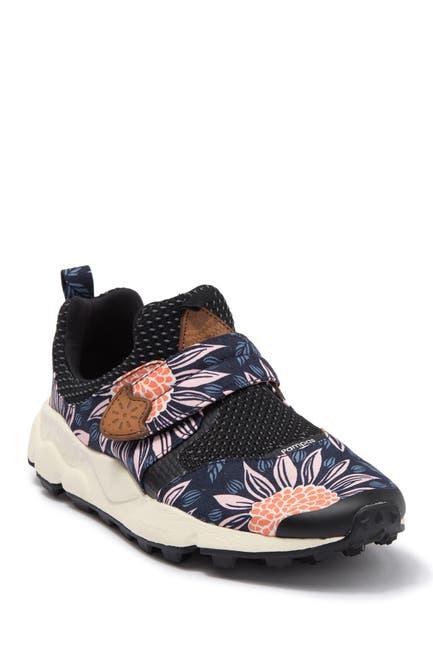 Image of Flower Mountain Pampas Hook-and-Loop Strap Sneaker