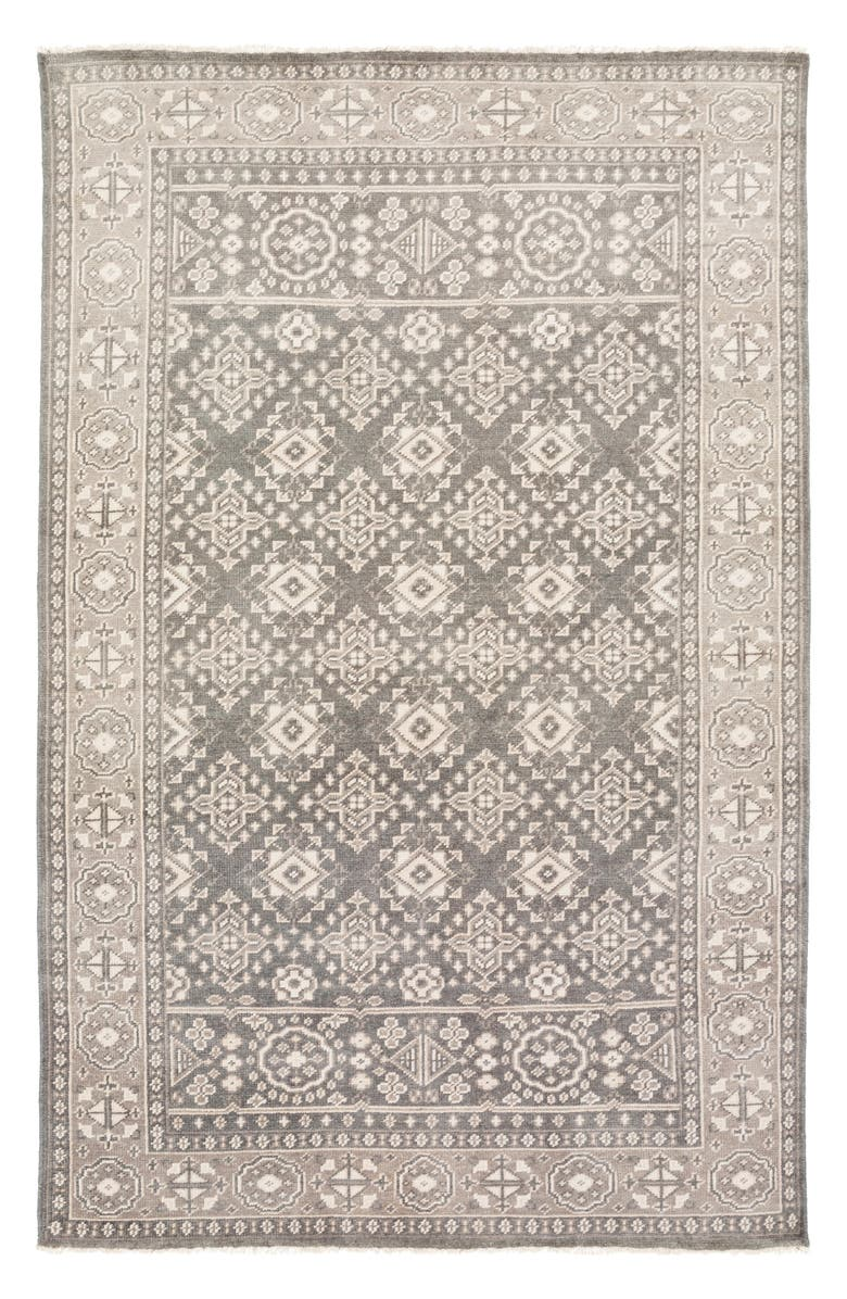 SURYA HOME Cappadocia Hand Knotted Area Rug, Main, color, GREY