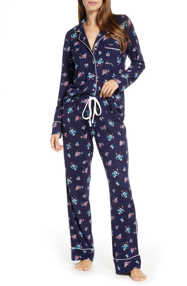 SPLENDID Pillow Soft Pajamas, Main, color, WINTER BOUQUET