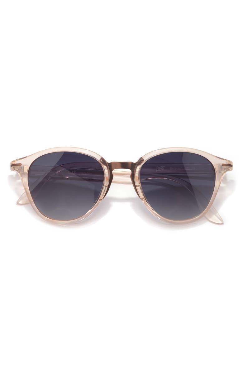 SUNSKI Vacanza 48mm Polarized Sunglasses, Main, color, CHAMPAGNE OCEAN