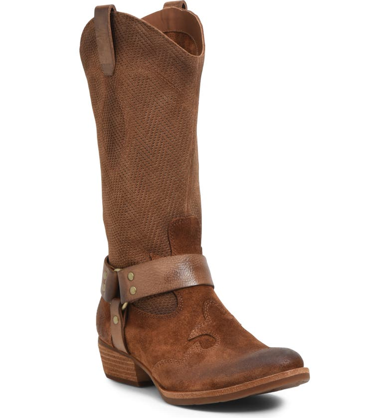 KORK-EASE<SUP>®</SUP> Alvra Harness Boot, Main, color, BROWN LEATHER