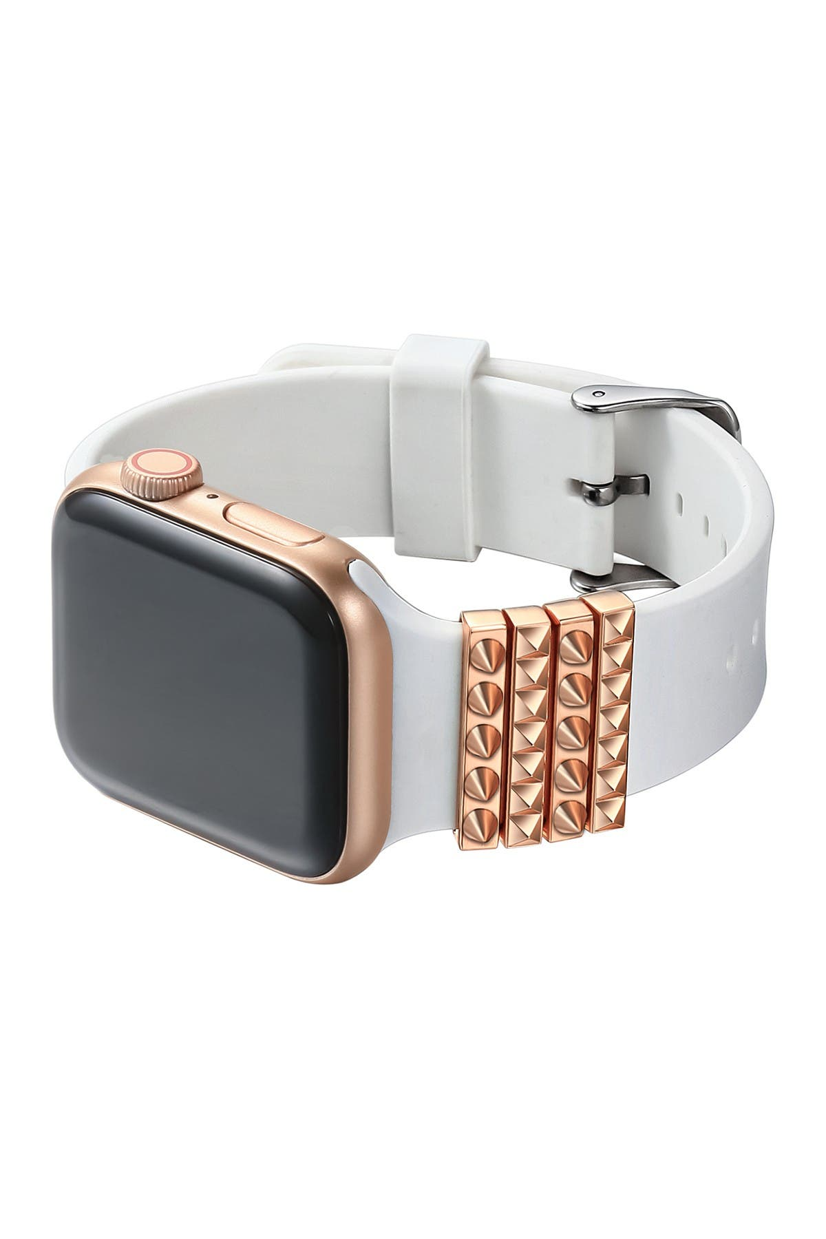 Posh Tech Rose Gold Apple Watch Band Charm Set Of 4 Nordstrom Rack