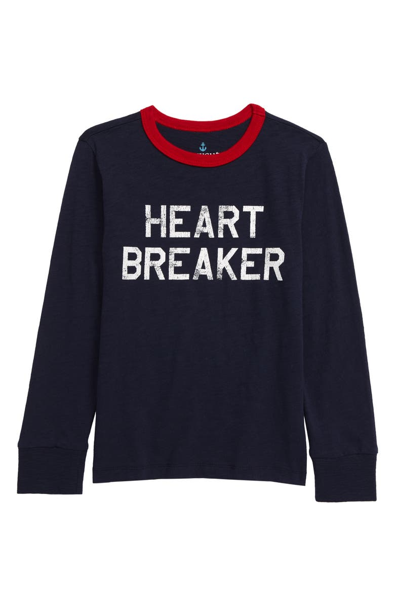 CREWCUTS BY J.CREW Heartbreaker Long Sleeve T-Shirt, Main, color, 400