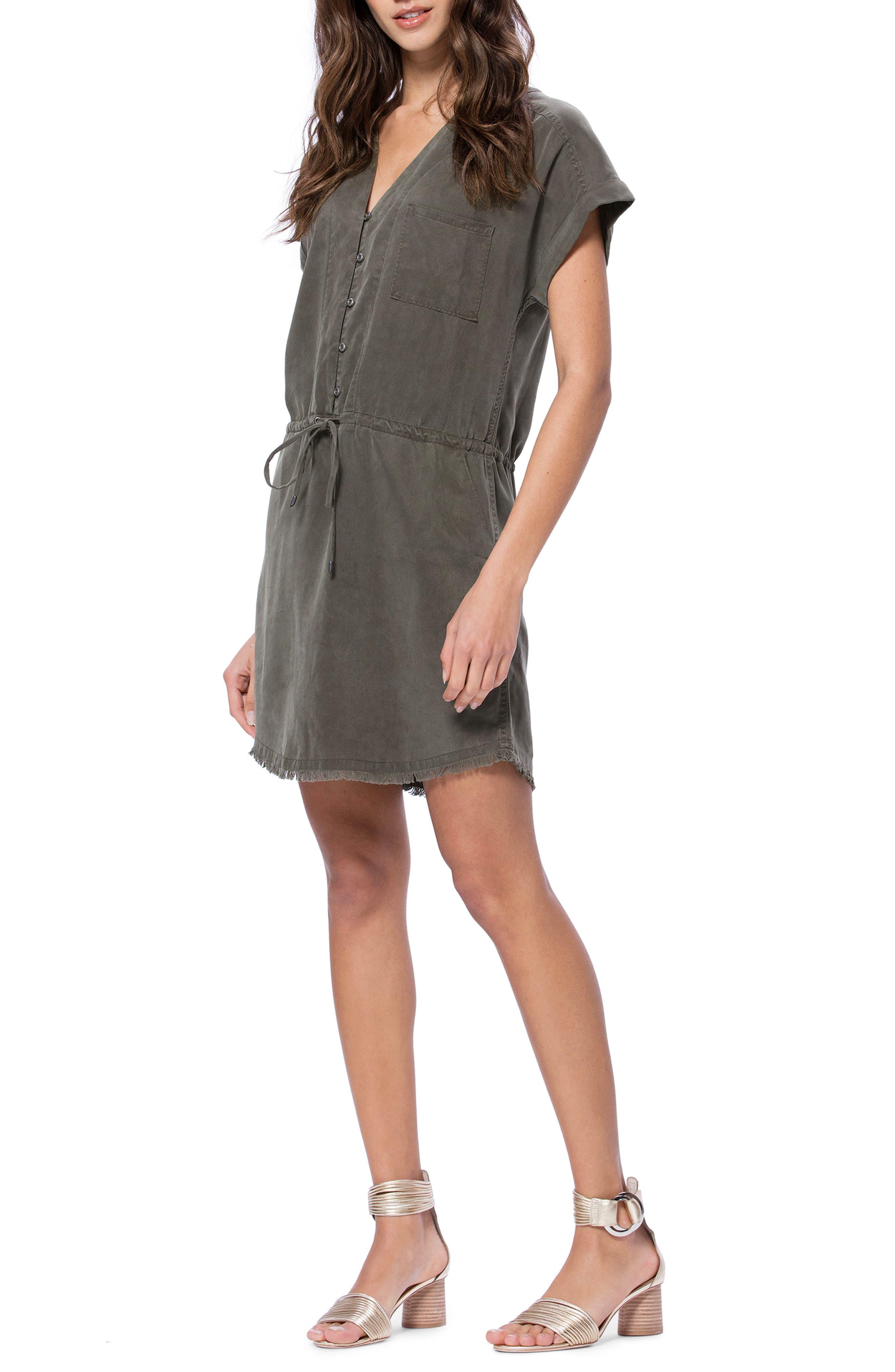 Paige Haidee Dress, Green
