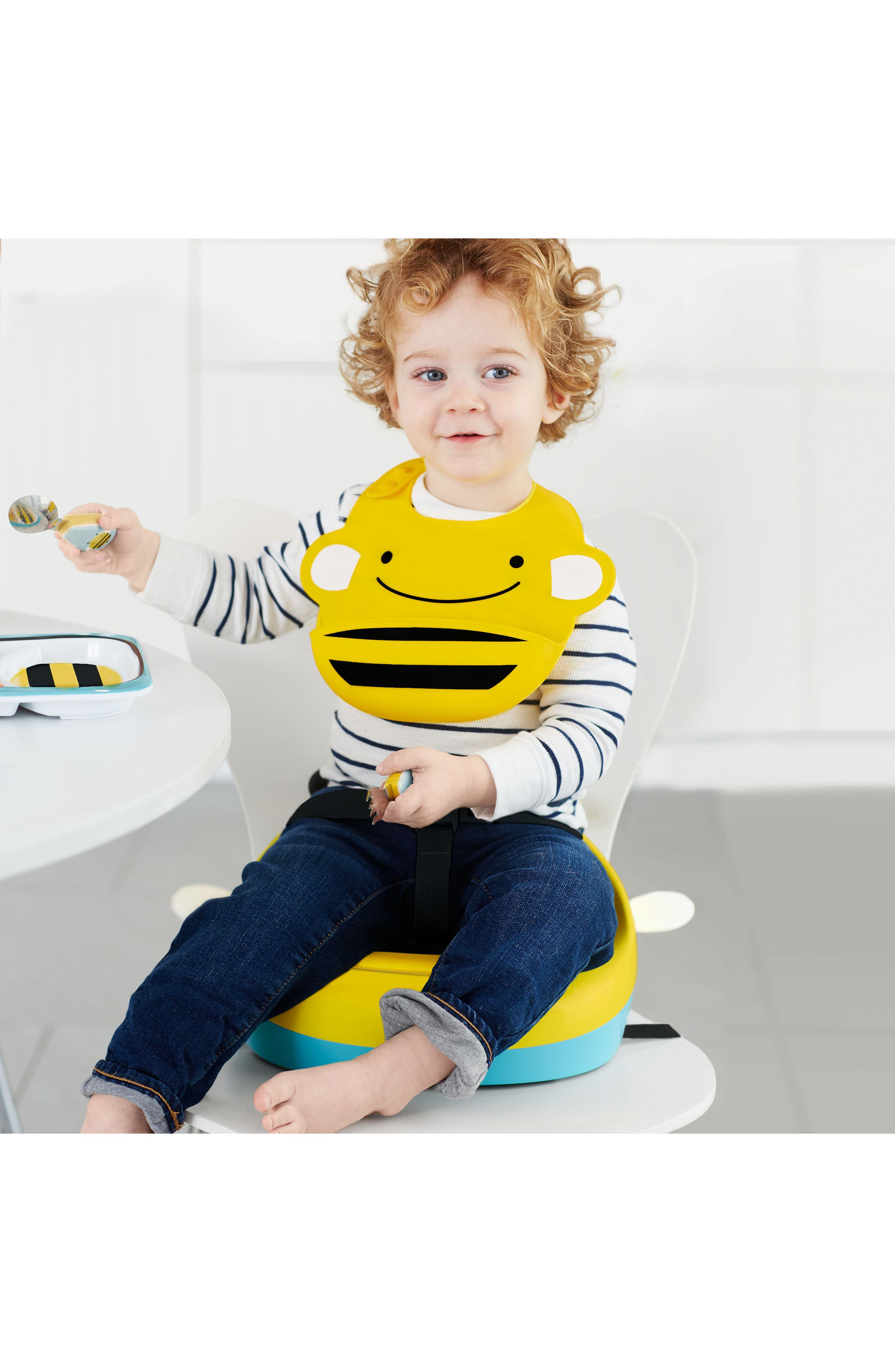 ,                             Zoo Two-Stage Booster Seat,                             Alternate thumbnail 3, color,                             YELLOW