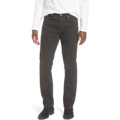 Fidelity Denim Jimmy Slim Straight Leg Jeans, Green