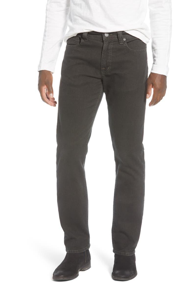 FIDELITY DENIM Jimmy Slim Straight Leg Jeans, Main, color, CLOVER