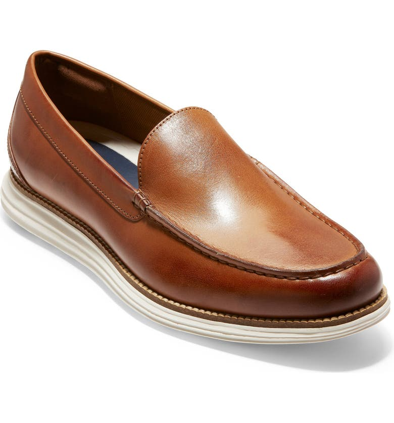 Original Grand Loafer, Main, color, BRITISH TAN/ IVORY LEATHER