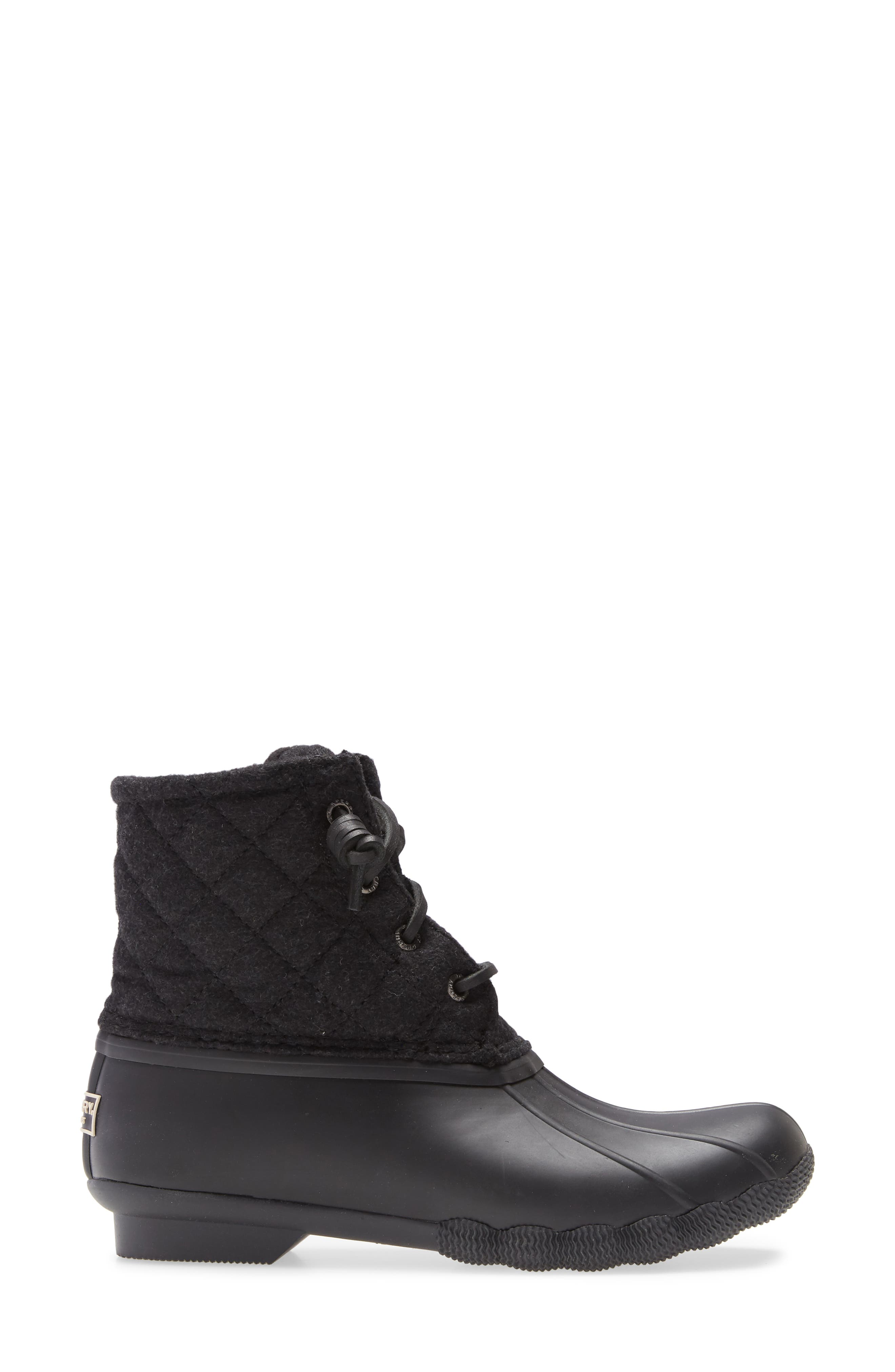 Sperry Saltwater Quilted Wool Duck Boot