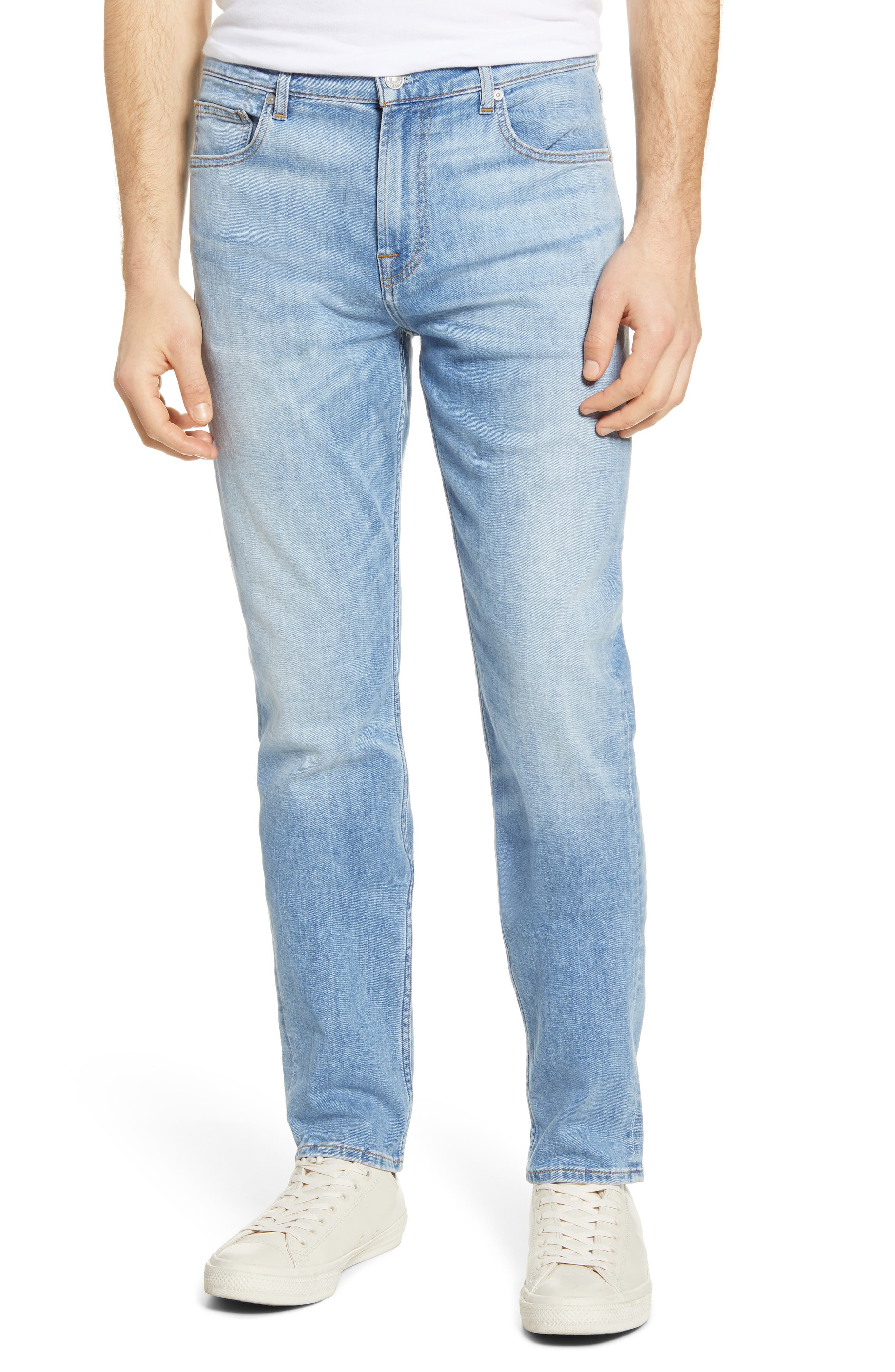 7 For All MankindR Men's 7 For All Mankind Adrien Slim Tapered Leg Jeans,  30R - Blue