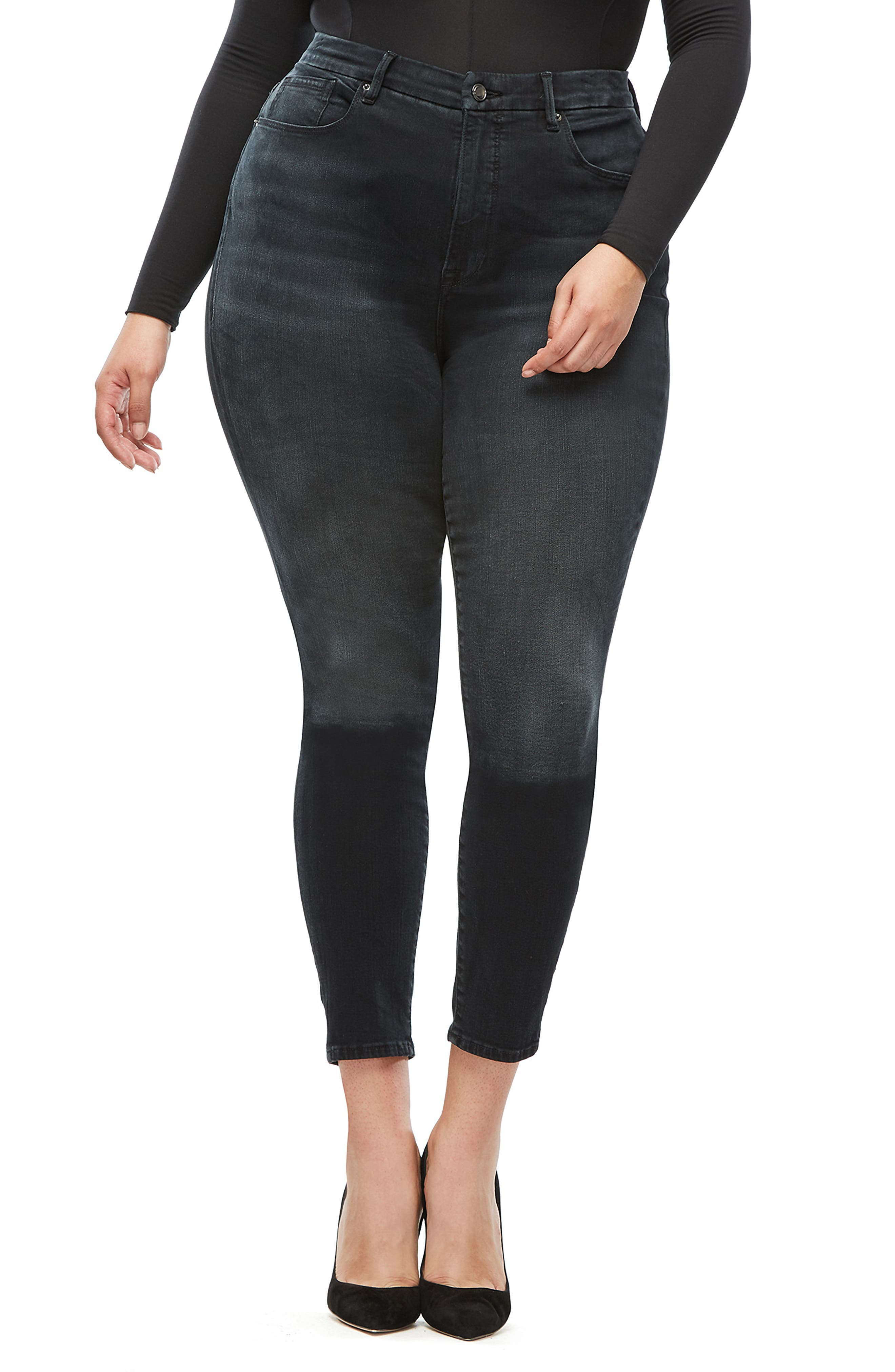 ,                             Good Legs Ankle Skinny Jeans,                             Alternate thumbnail 10, color,                             402