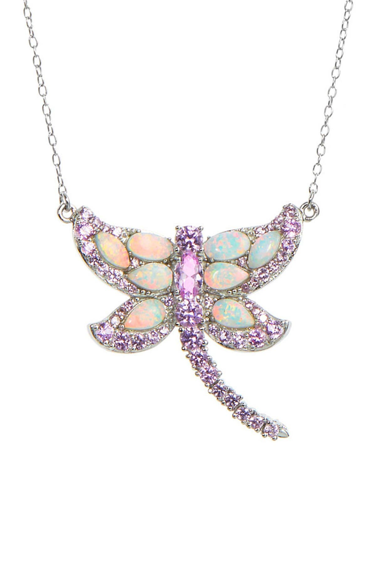 Image of Savvy Cie Dragonfly Pendant Necklace