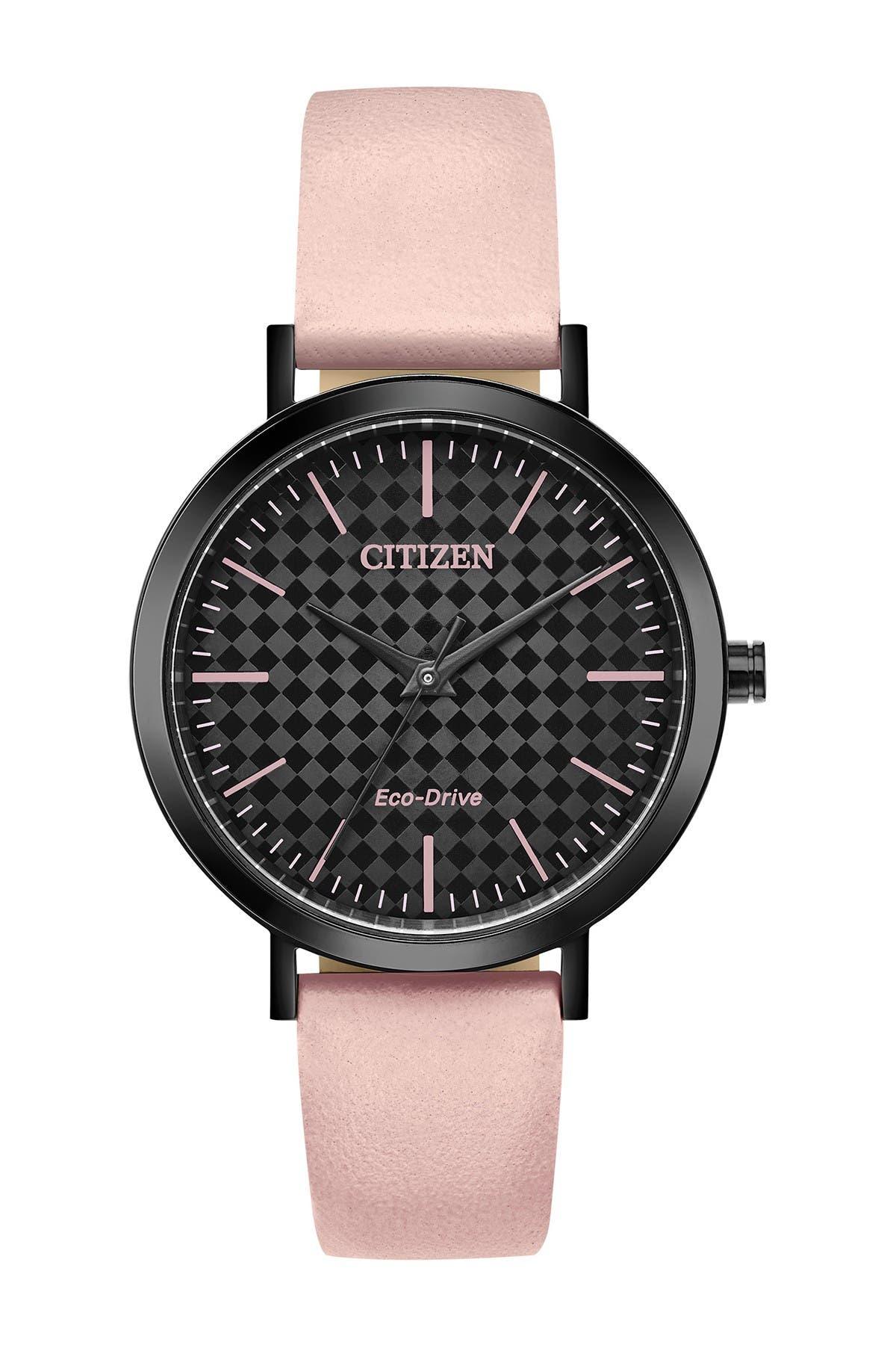 Image of Citizen Women's Drive Blush Strap Watch, 36.5mm