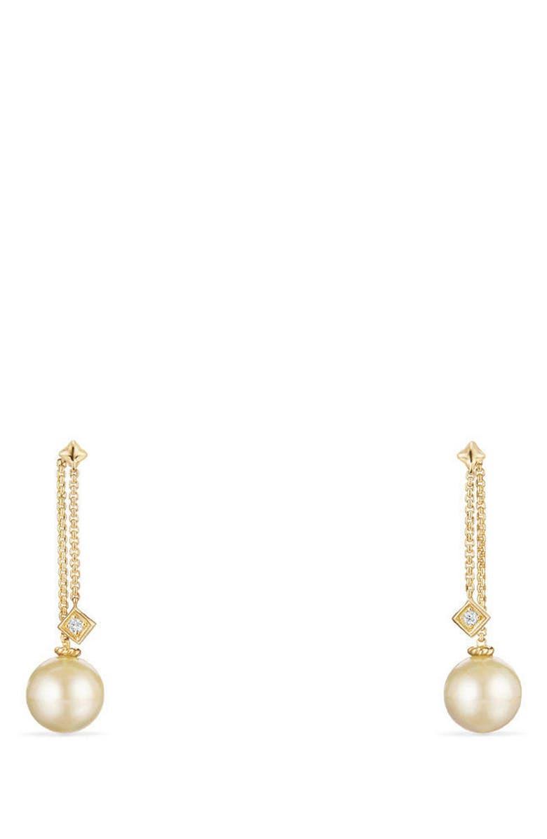 DAVID YURMAN Solari Earrings with Diamonds in 18K Gold, Main, color, 710