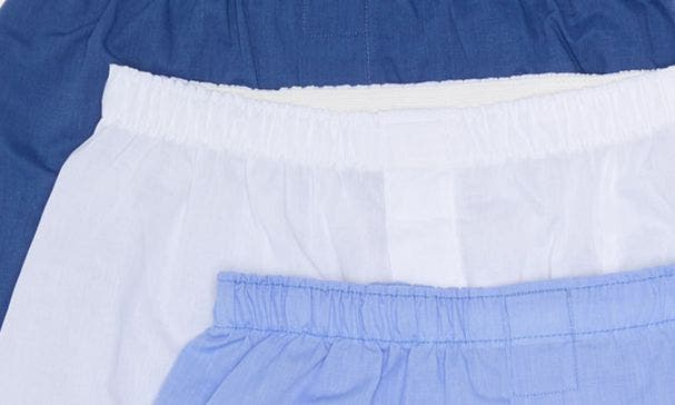 BLUE WHITE SOLID PACK
