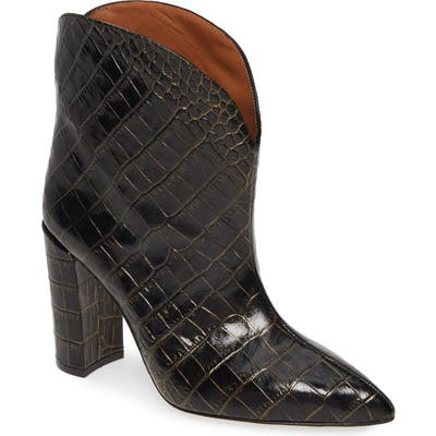 Paris Texas Ankle Bootie - Black
