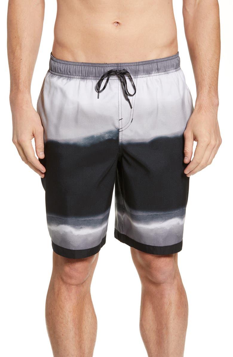 NIKE Optic Halo Volley Shorts, Main, color, 001