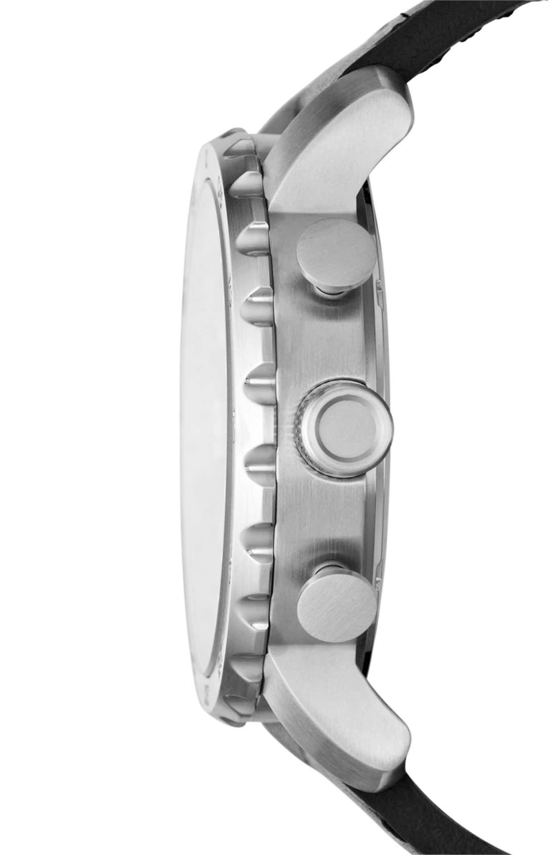 ,                             'Nate IP' Chronograph Watch, 50mm,                             Alternate thumbnail 8, color,                             002