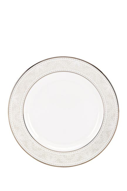 Image of kate spade new york platinum/white chapel hill butter plate