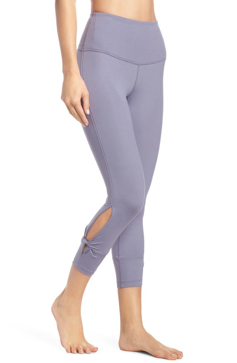 ZELLA Katya Lite High Waist Crop Leggings, Main, color, 030