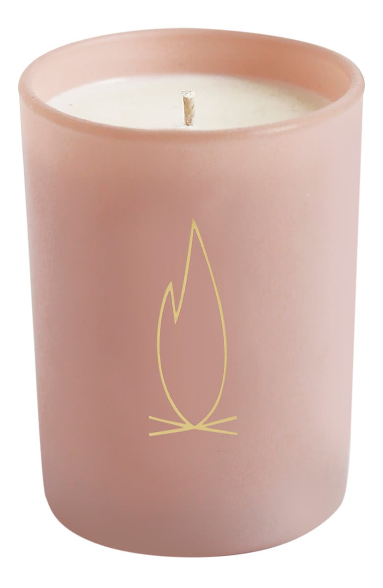 BROOKLYN CANDLE Studio Pink Disco Fireplace Candle, Main, color, FIREPLACE
