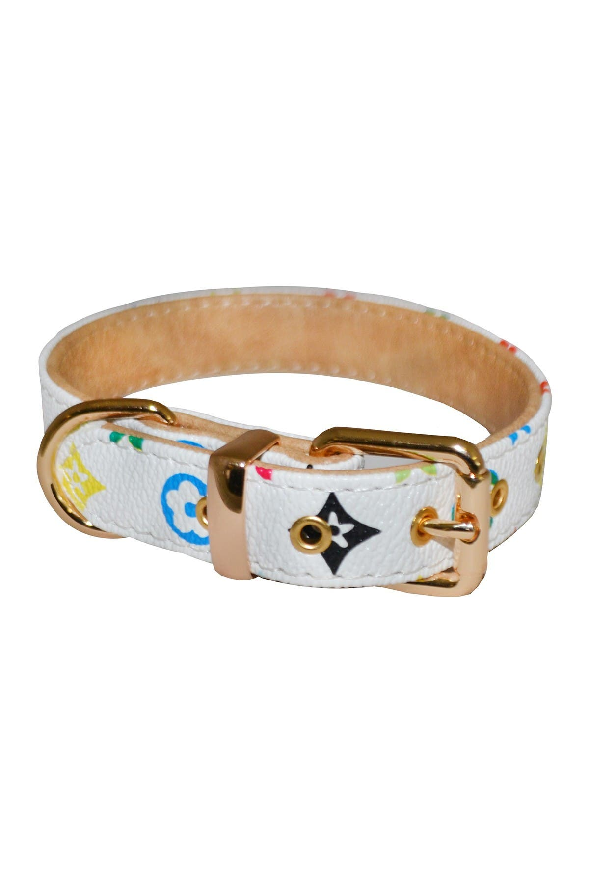 Image of Dogs of Glamour Small Multi Audrey Floral Collar
