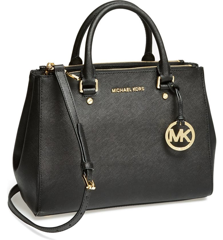 67ce63e4076 MICHAEL Michael Kors 'Medium Sutton' Saffiano Leather Tote | Nordstrom