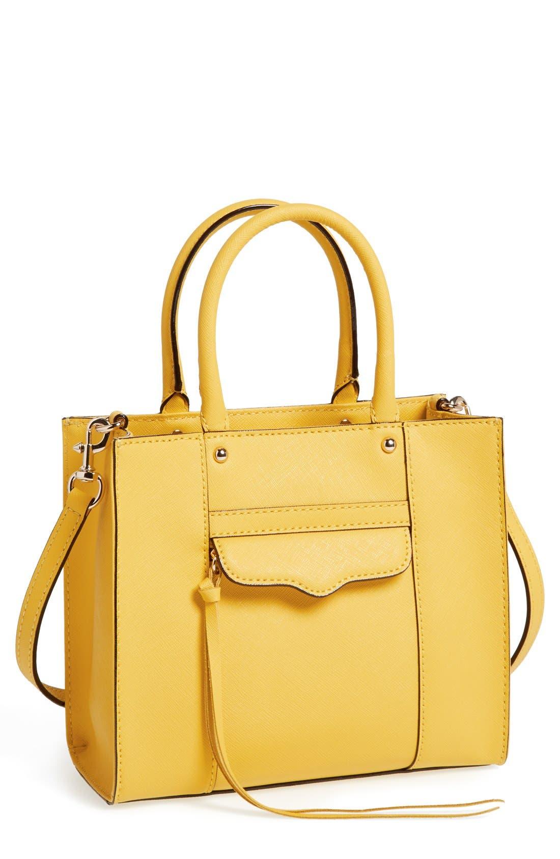 ,                             'Mini MAB Tote' Crossbody Bag,                             Main thumbnail 131, color,                             720