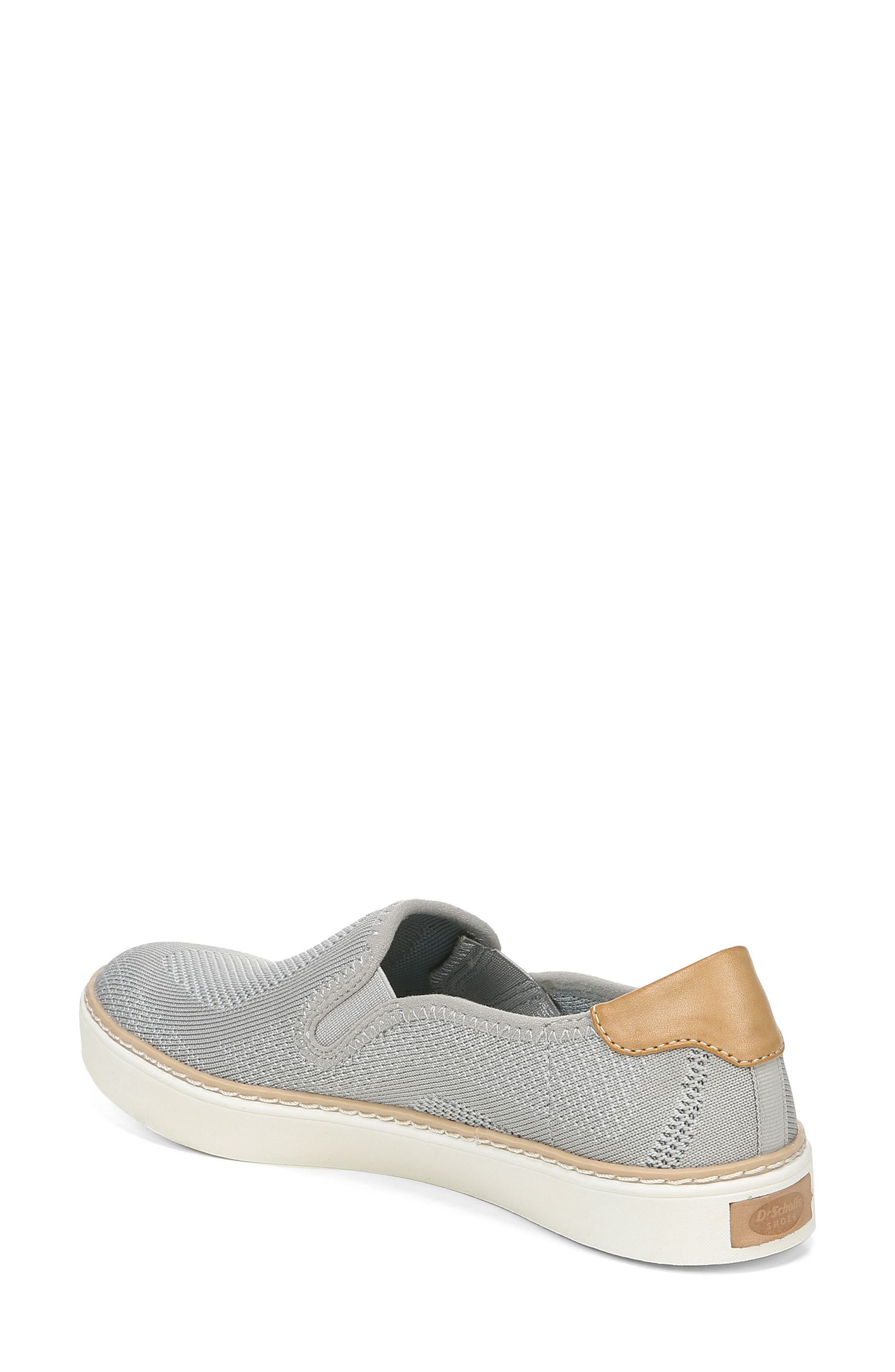 ,                             Madi Slip-On Sneaker,                             Alternate thumbnail 2, color,                             GREY KNIT FABRIC